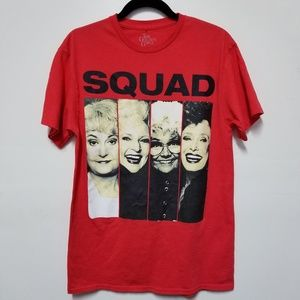Other - 3/$15 The Golden Girls Squad Graphic Tee Medium